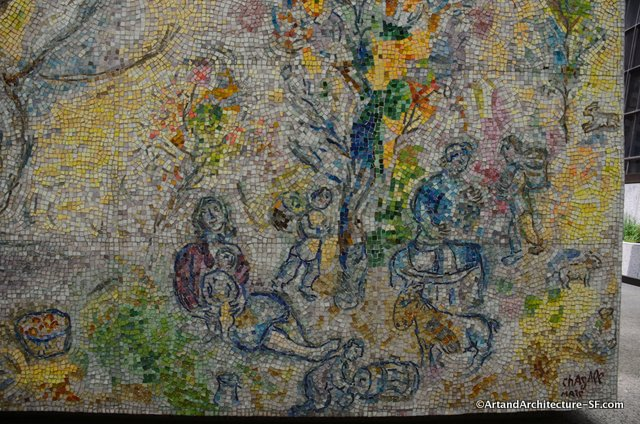 Chagall in chicago all i need is my passport for Chagall mural chicago